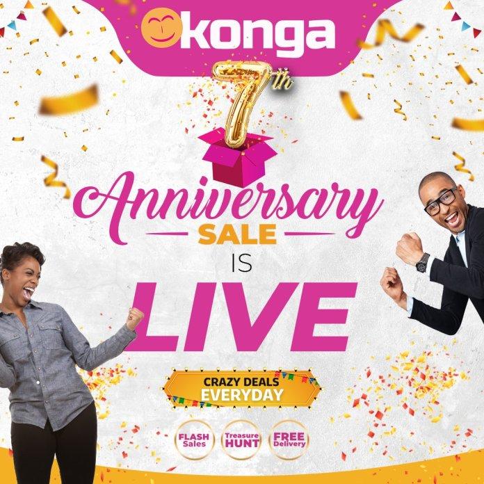 PRICES CRASH AT KONGA FOR 7TH ANNIVERSARY - Brand Spur