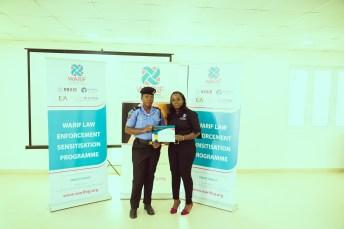 WARIF trains Police Officers in its Law Enforcement Case Management Sensitisation Program gender based violence brandspur nigeria