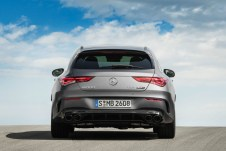 Mercedes-AMG CLA 45 S 4MATIC+ Shooting Brake (2019);Fuel consumption combined: 8.4-8.2 l/100 km; Combined CO2 emissions: 191-188 g/km*
