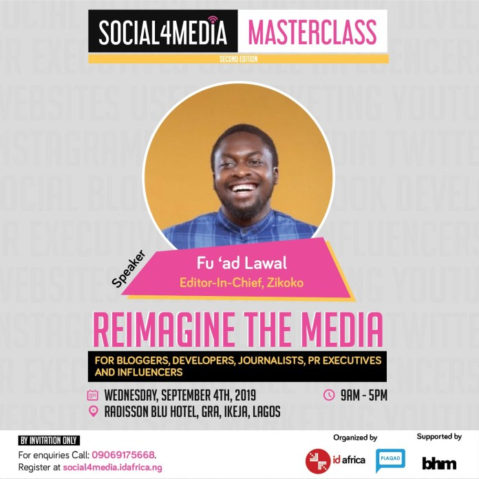 ID Africa And Plaqad Presents Second Edition Of Social4Media Masterclass - Brand Spur