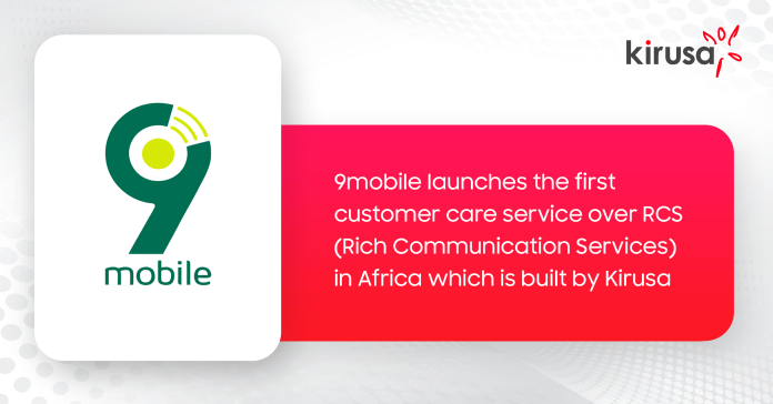 9MOBILE LAUNCHES CUSTOMER CARE ON RCS, TRANSFORMING HOW USERS COMMUNICATE WITH 9MOBILE - Brand Spur