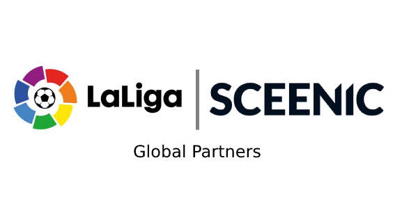 LaLiga partners with Sceenic, the game-changers of video consumption and fan engagement - Brand Spur