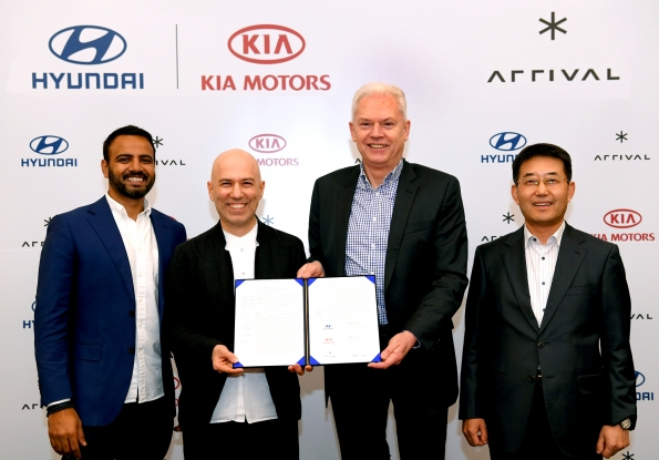 Hyundai and Kia Make Strategic Investment in Arrival to Co-develop Electric Commercial Vehicle - Brand Spur