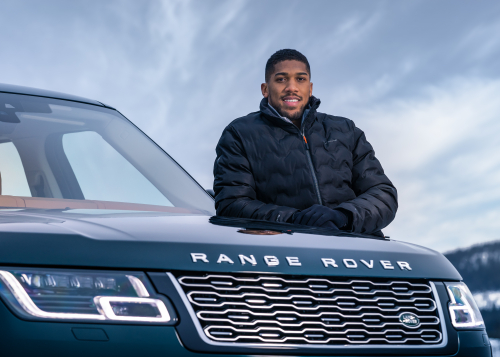 50 Years Of Range Rover: Land Rover And Anthony Joshua Celebrate Golden Jubilee For Luxury Suv With Unique Snow Art - Brand Spur