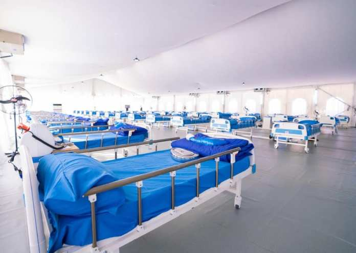 Covid-19: Sanwo-Olu Takes Delivery of 110-Bed Isolation Centre Jointly Built with GTBank (Photos) - Brand Spur
