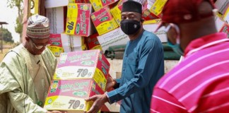 Flour Mills of Nigeria Continues to Donate Relief Food Items Across the Nation brandspurng