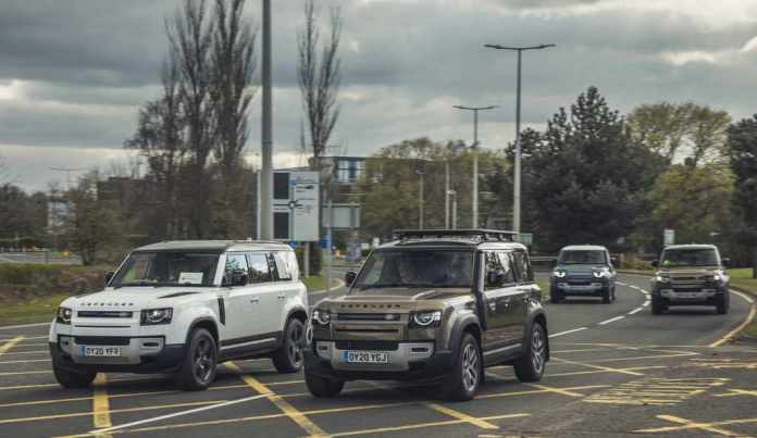 Coronavirus: Jaguar And Land Rover Deploy Global Fleet To Support Emergency Response Partners - Brand Spur