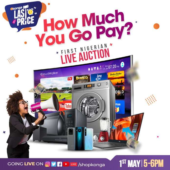 Konga Records Massive Traffic For First Ever Live Online Auction In Africa - Brand Spur