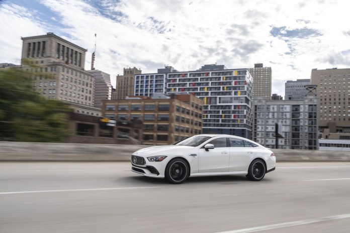 New 2021 Mercedes-AMG GT 43 4-Door Coupe offers an additional entry point to the AMG GT family - Brand Spur