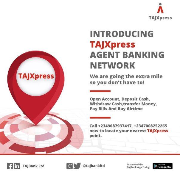 TAJBank Launches TAJXPRESS To Drive Financial Inclusion