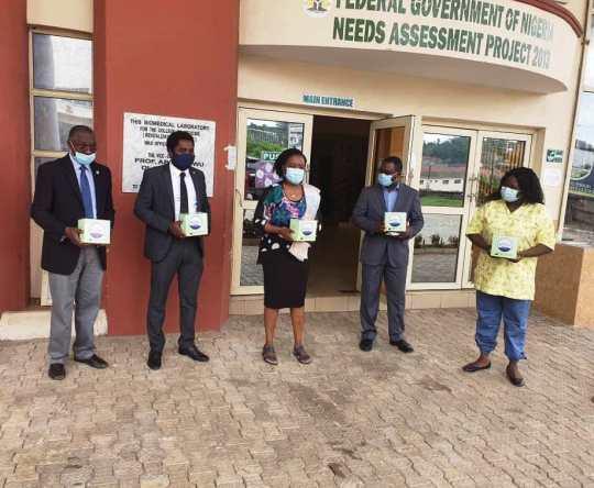 Stanbic IBTC donates COVID-19 test kits to UCH, Ibadan - Brand Spur