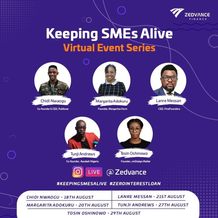 """Zedvance Unveils """"Keeping SMEs Alive"""" Campaign, Offers Zero-interest Loans to Small Businesses"""