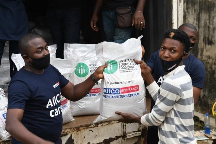 AIICO Partners NGO to Feed Underprivileged Community (Photos)