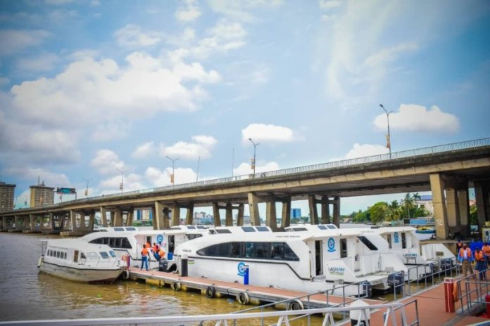 Lagos introduces a fuel pump on waterways