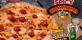 Domino's Pizza Has Us Wrapped Around Their Finger with Their New Delicious Shawarma Offerings.