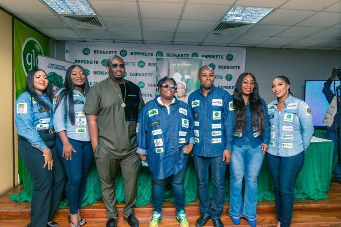 Globacom Unveils Don Jazzy and Teni as Ambassadors (Photos)
