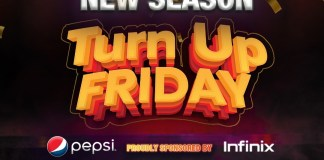 Africa Magic Partners Infinix, Pepsi to bring back Turn Up Friday Brandspurng