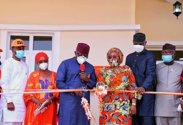 Ekiti State Governor commissions the Sexual Assault Referral Centre, Moremi Clinic (Photos)