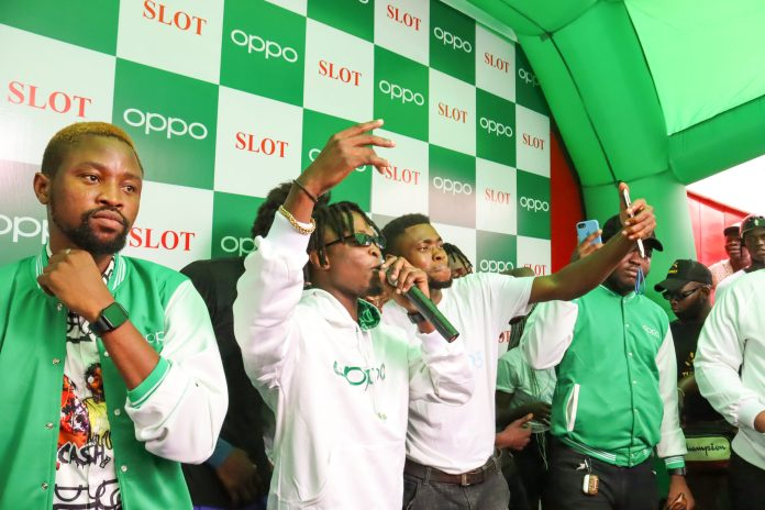 Laycon surprises fans with live performance at #OPPOMarketStorm
