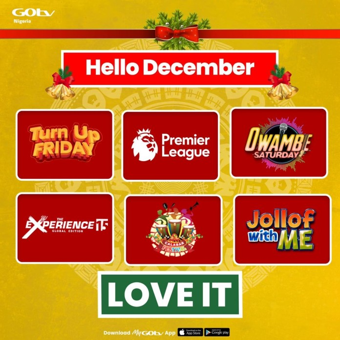 5 Exciting Local Shows You Must Watch this December on GOtv