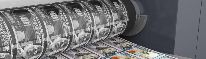 Moneay Printing 100 US Dollar Banknotes