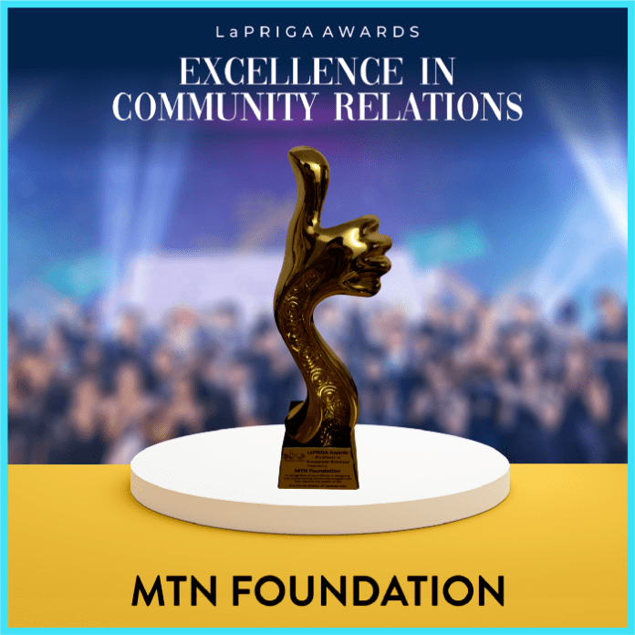 MTN Nigeria Wins Excellence in Community Relations Award At LaPRIGA Awards