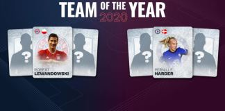 UEFA.com Fans' Teams of the Year 2020 announced Brandspurng