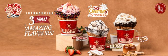Cold Stone Creamery Goes Digital: Unveils Mobile App And E-Commerce Platform