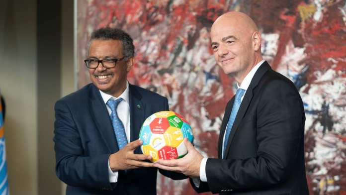 FIFA and WHO #ACTogether to tackle COVID-19 Brandspurng