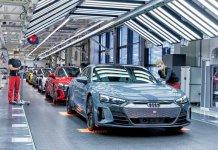 Produktion Audi e-tron GT