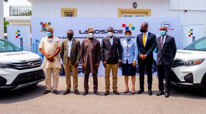 LAGOS RIDE Brandspurng Lagos State Unveils Ride-Hailing Taxi Scheme
