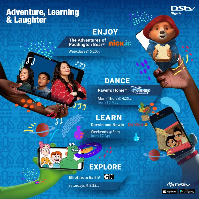 Get The Kids Dancing, Learning and Exploring with these 4 Shows and Series On DStv!