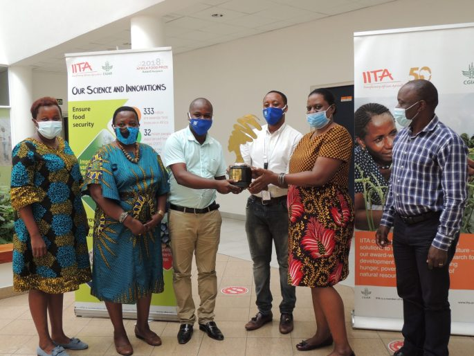 IITA-Tanzania Wins Award For Promoting Workplace Gender Equality-Brand Spur Nigeria
