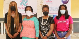 P&G, WARIF Support Puberty Education In Schools-Brand Spur Nigeria