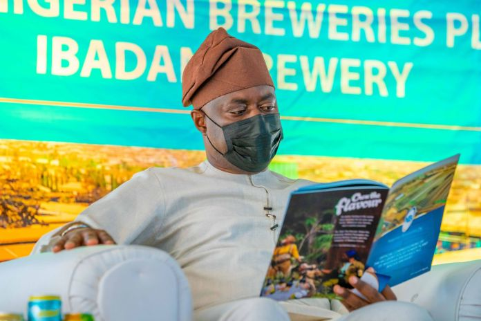 Nigerian Breweries, solar power plant