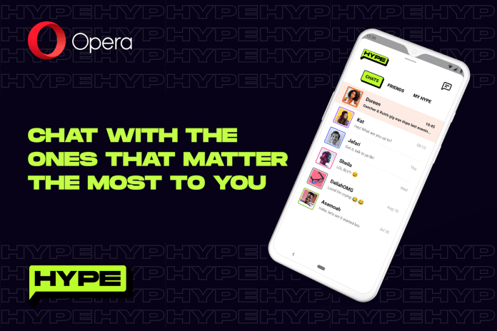 Opera Launches Hype, An In-Browser Chat Service For Opera Mini Users-Brand Spur Nigeria