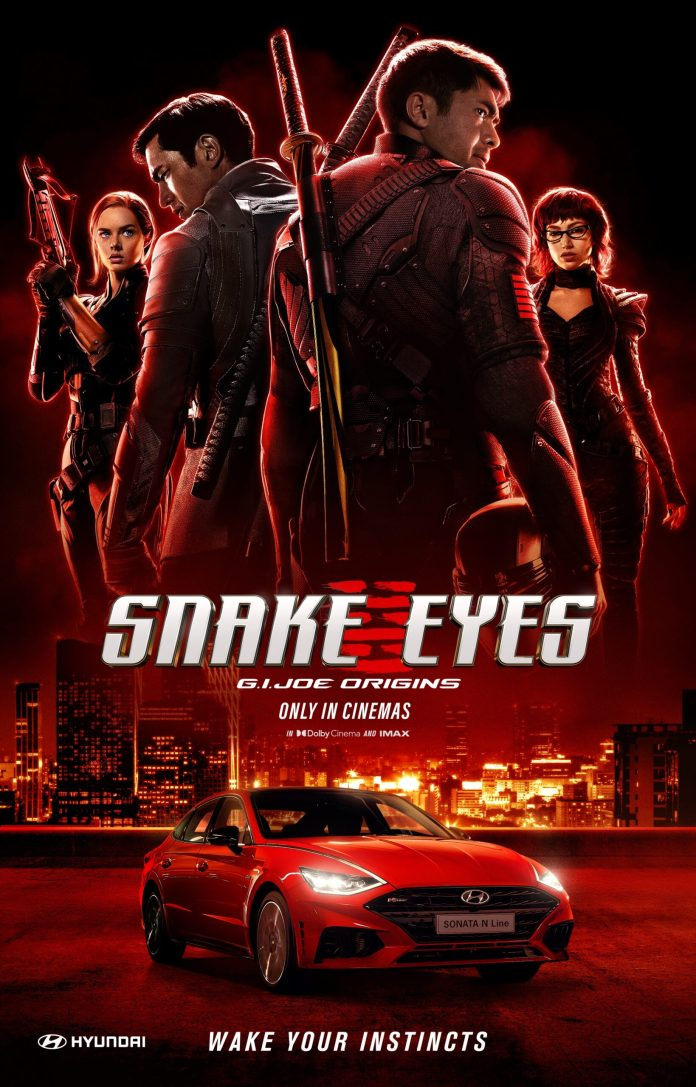 Hyundai Motor Teases Bold Sonata N Line in Snake Eyes G.I. Joe Origins