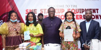 NBC, Coca-Cola Present Start-up Equipment To Vulnerable Nigerians-Brand Spur Nigeria