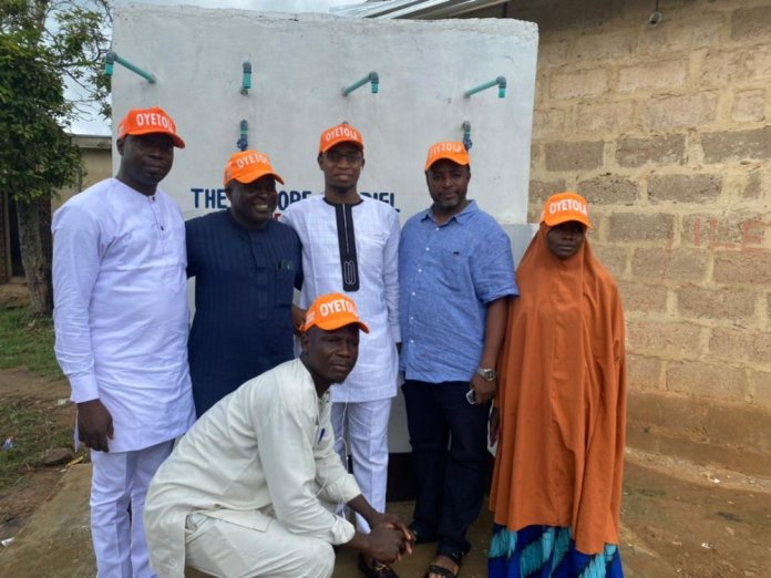 Omisore Foundation Commissions Borehole Project In Olode, Ife South