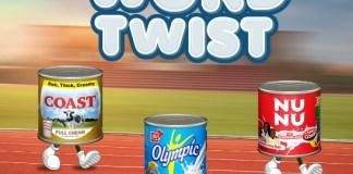 FrieslandCampina WAMCO Unveils Coast, Olympic,Nunu Milk With #Word Twist Campaign-Brand Spur NIgeria
