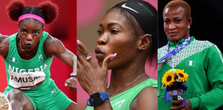 Women Of Team Nigeria Shine Brighter With Medals At The Tokyo Olympics-Brand Spur NIgeria