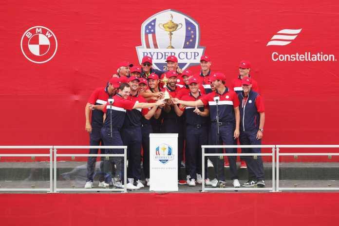 United States team wins 43rd Ryder Cup, as BMW debuts as Worldwide Partner  of legendary international team competition.