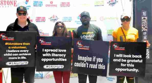 Eat 'N' Go Partners with Slum2School to Celebrates International Literacy Day at Tarkwa Bay - Brand Spur