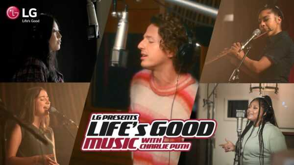 LG: Spreading A Message Of Hope With Charlie Puth-Brand Spur Nigeria