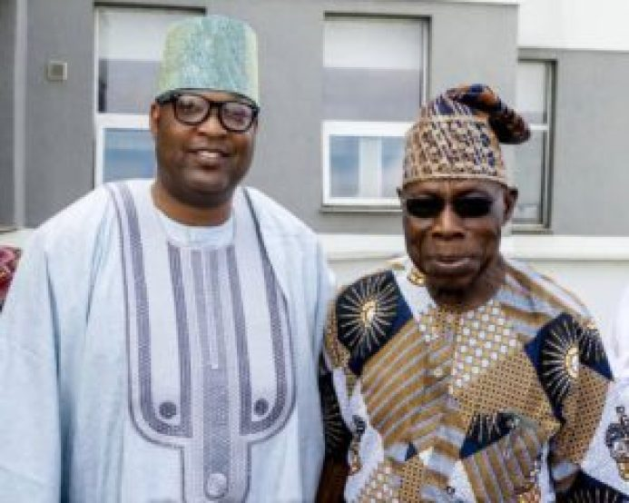 Adron Homes GMD, Emmmanuelking Joins Obasanjo To Pray For Nigeria