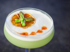 Green Pisco Sour