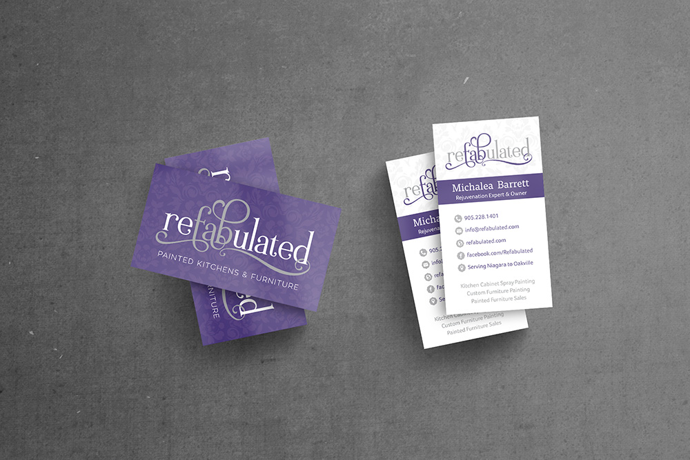 Refabulated Business Cards