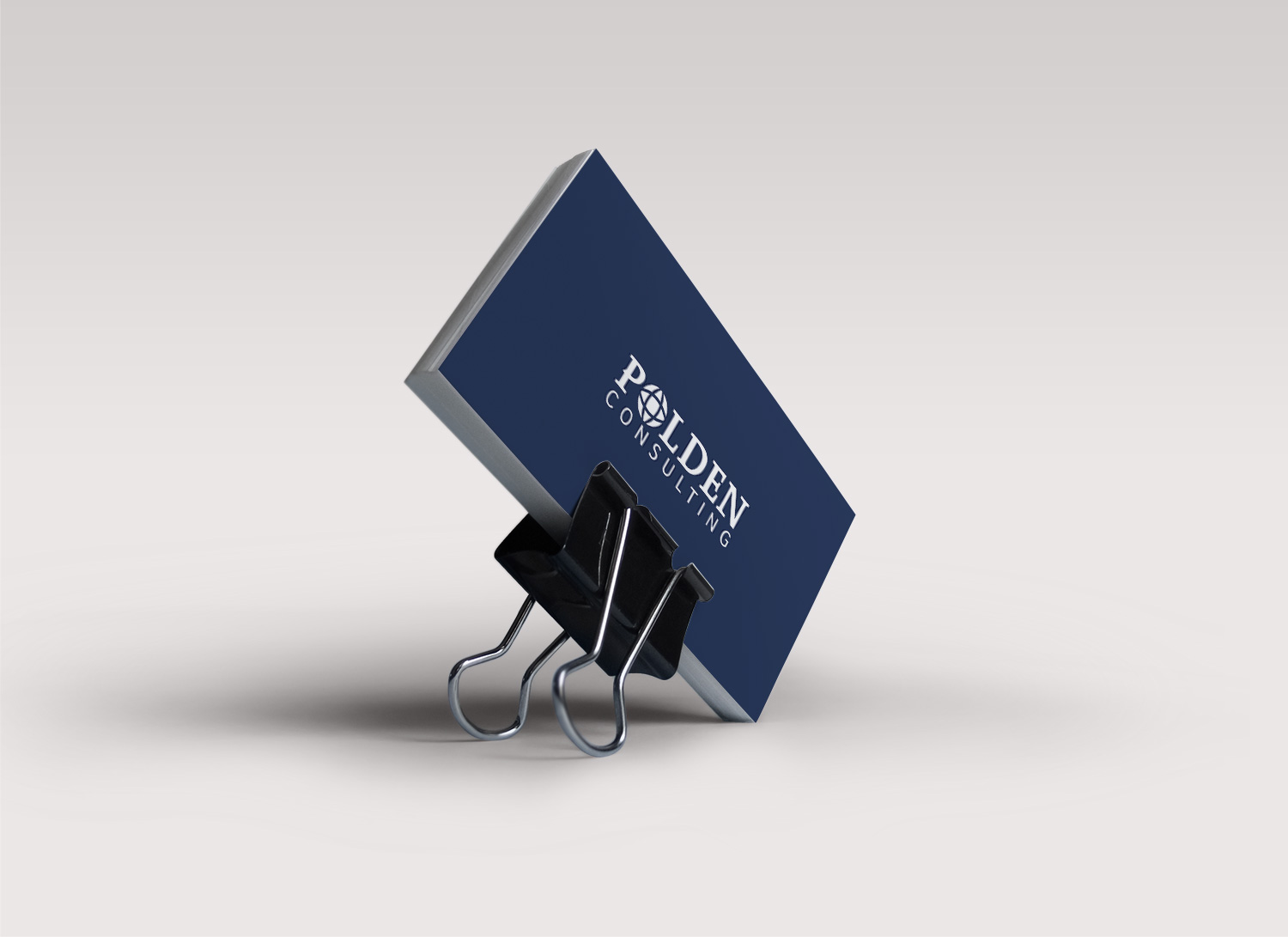 Polden Consulting business cards