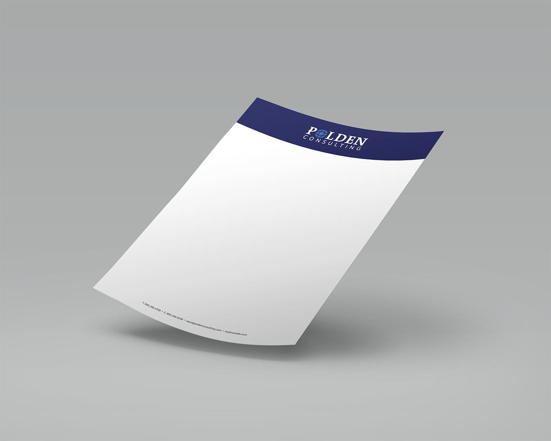 Polden Consulting letterhead