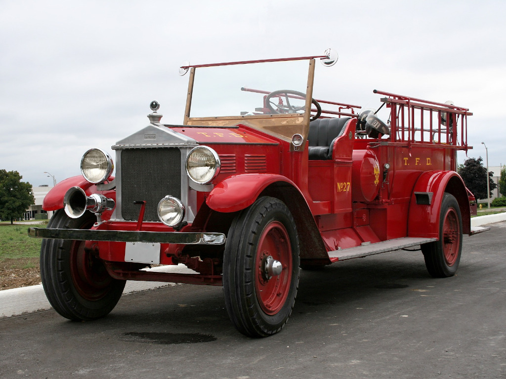 Brandweer geschiedenis